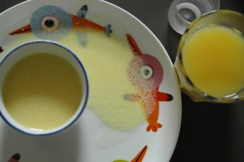 Orangenmilch